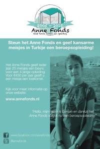 Steun het Annefonds